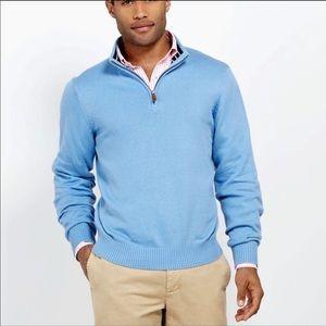 Vineyard vines pullover sweater men's qtr zip top